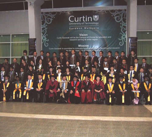 First batch of diploma students graduate from Curtin University of Technology, Sarawak Malaysia