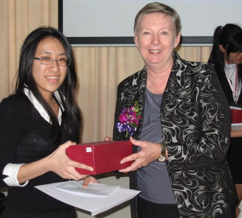 CUTSE International Conference participants receive awards for outstanding presentations