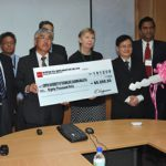Nippon Oil Exploration presents Curtin University of Technology, Sarawak Malaysia 4-wheel-drive for geological field work