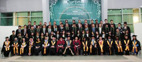 Business and process plant technology diploma students graduate from Curtin Sarawak