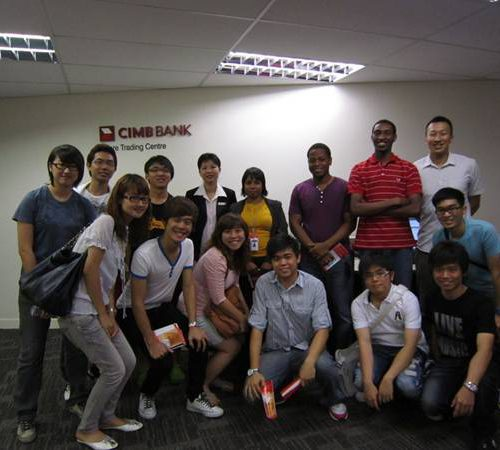 Curtin Sarawak business students gain insight into banking sector