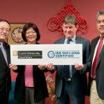 Curtin Sarawak announces ISO 9001:2008 certification
