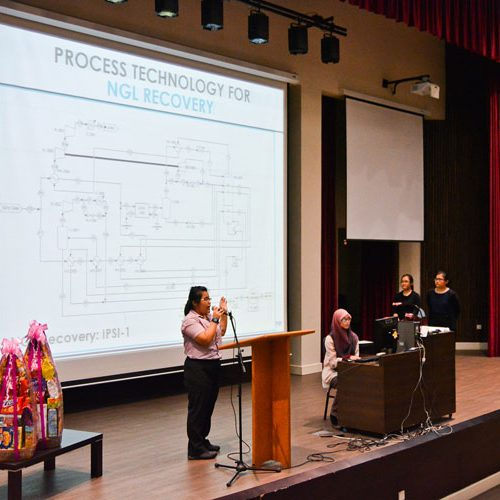 Curtin Sarawak chemical engineering students awarded at Design Project Award ceremony
