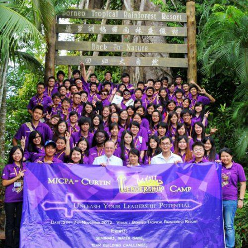 MICPA and Curtin Sarawak host Leadership Camp 2012