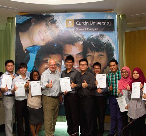 Curtin Sarawak business students receive commendations