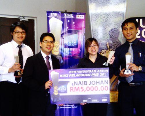 Curtin Sarawak second in national level investment quiz