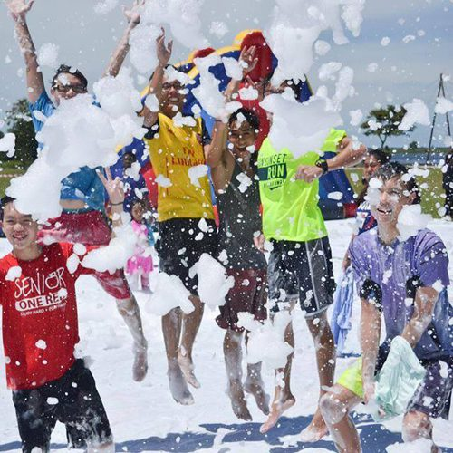 Curtin Sarawak students organise East Malaysia's first foam party