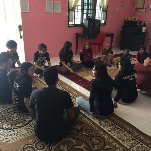 Curtin students bring 'Serve Miri' programme to Miri orphans
