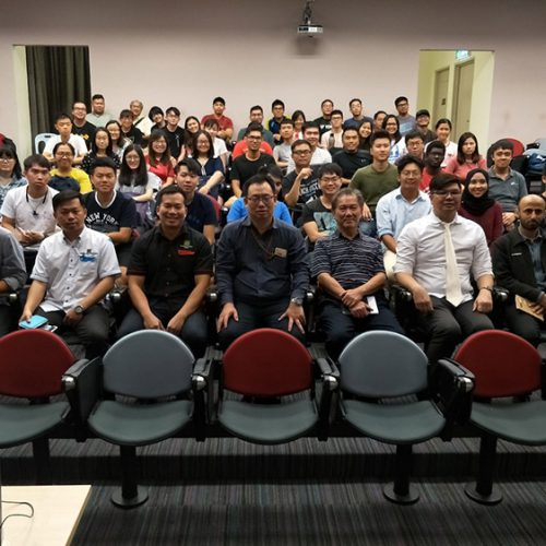 Curtin students gain insights into construction of Long Lama Bridge through technical talk and site visit