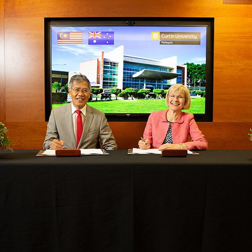 Curtin Malaysia and Curtin University renew partnership for another 20 years