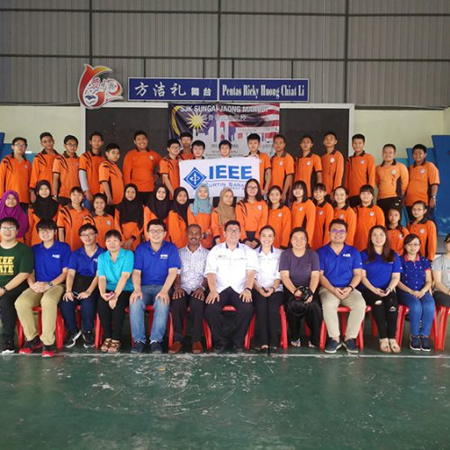 IEEE Curtin Malaysia Student Branch promotes STEM and programming to rural students