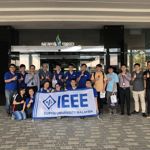 Site visits give Curtin students better understanding of energy and communication industries