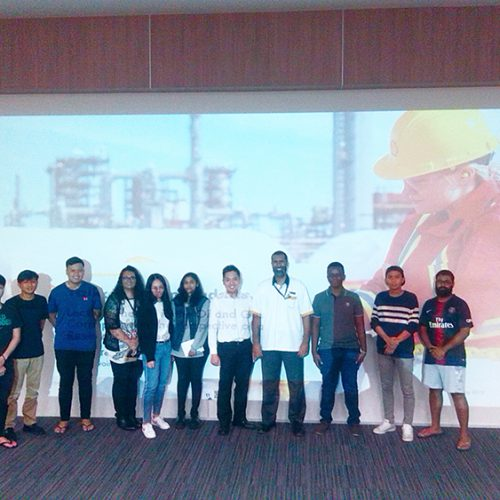 Curtin students get a petroleum engineer's perspective on work in oil and gas industry