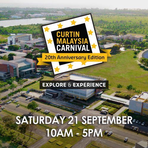Public invited to 'Explore & Experience' at Curtin Malaysia Carnival on 21 September