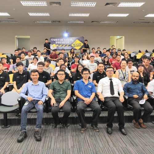 Curtin civil engineering students attend talk on internships and career opportunities