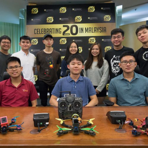 Drone Exhibition and Borneo FPV Drone Race to be held concurrently at Curtin Malaysia on 26 October