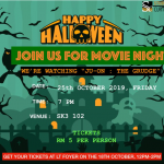 Halloween Movie Night by FOB HDR