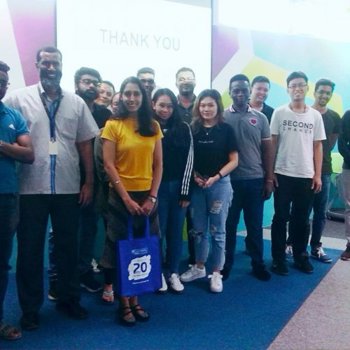 Curtin Malaysia petroleum engineering students get insights into well completion by Shell engineer