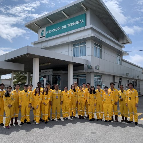 Curtin Malaysia chemical engineering students visit Miri Crude Oil Terminal
