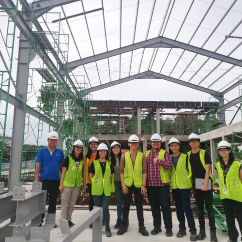 Curtin Malaysia construction management students learn from on-campus projects