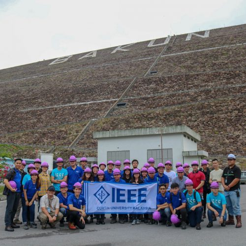 Curtin Malaysia IEEE-IAS Student Chapter members visit Southeast Asia's largest dam