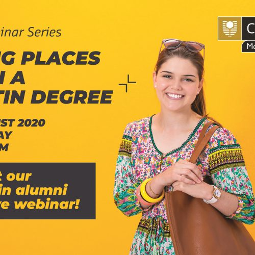 Curtin Malaysia hosting live webinar featuring alumni in various industries