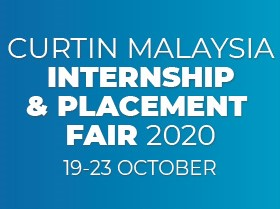 Curtin Malaysia Internship and Placement Fair going online this year