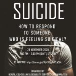 Public invited to join Curtin Malaysia's webinar on suicide prevention