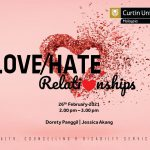 Curtin Malaysia invites community to join love-hate relationships webinar
