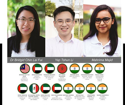 Curtin Malaysia team represents Malaysia in MEA Energy Innovation Hub Competition, makes it to the Top 15
