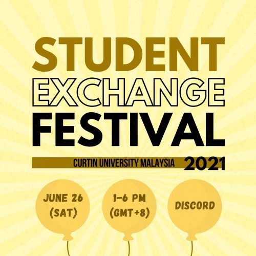 Curtin Malaysia hosting students from five varsities in five countries for Student Exchange Festival 2021