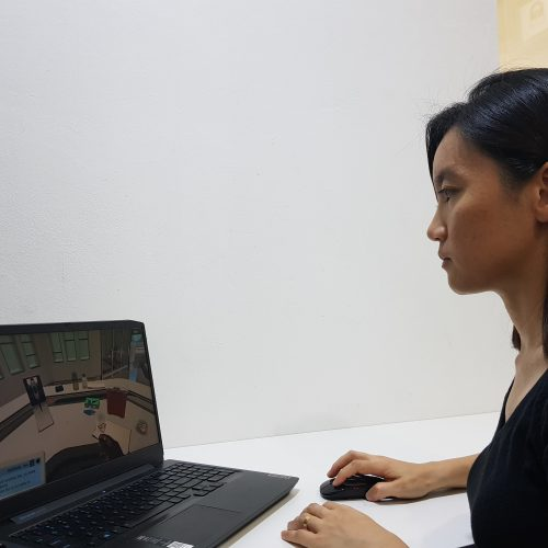 Curtin Foundation students learn with Labster, a virtual lab simulator