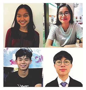 Four Curtin Malaysia chemical engineering students win IChemE POPSIG awards