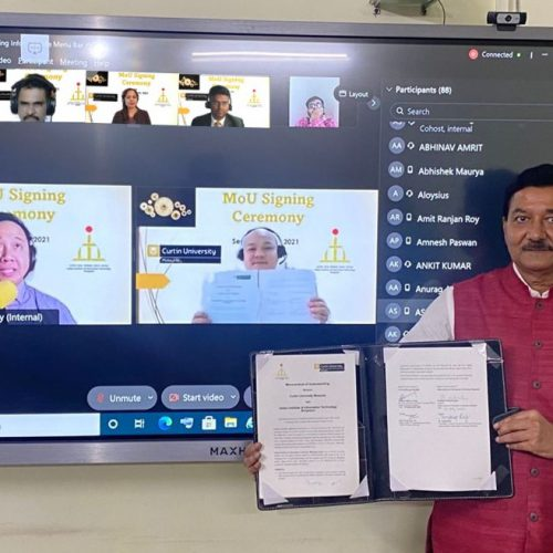 Curtin Malaysia and IIIT Bhagalpur to collaborate in education and research